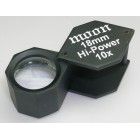 Loupe 18mm Hexa Black 10x