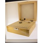 Wooden Box with 100 holes