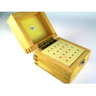 Wooden Box with 20 holes