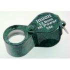 Loupe 12.5mm oval Green 14x
