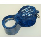Loupe 12.5mm oval Blue 14x