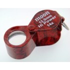 Loupe 12.5mm oval Red 14x