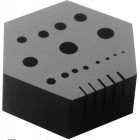 Hexa Hole Plate with 15 holes